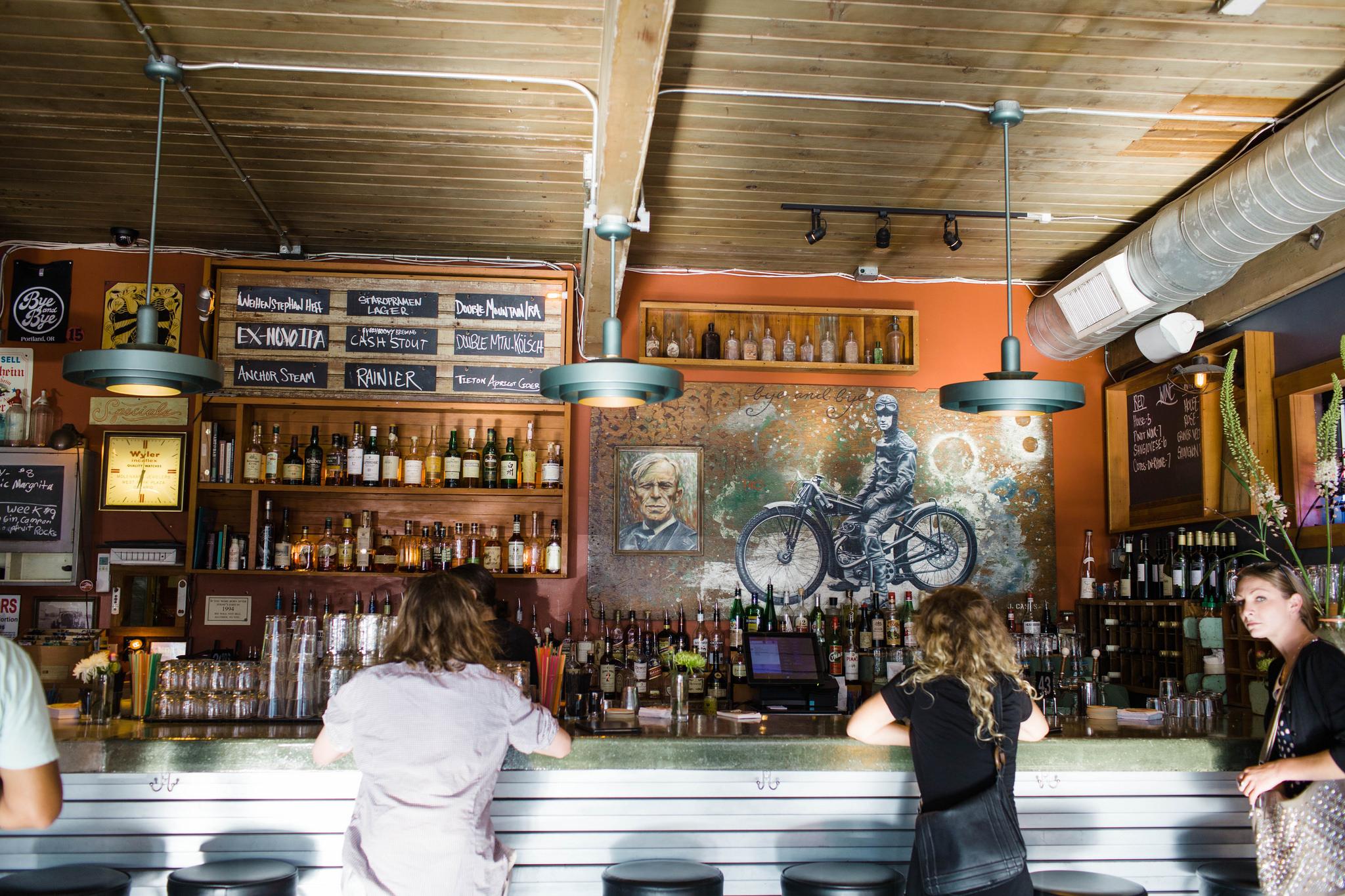 Bye and Bye, a vegan bar in Portland, Oregon   vegetarianPDX