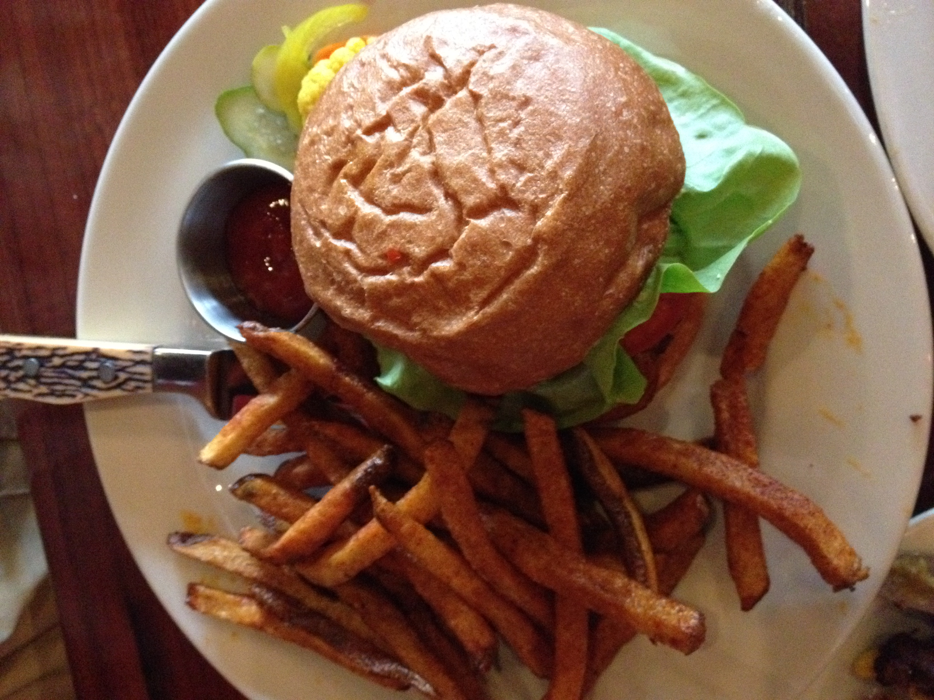 Burgs and fries