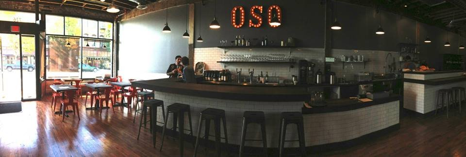 Oso Market + Bar in Portland, Oregon, is just one of the restaurants with vegetarian selections for Portland Dining Month | vegetarianPDX