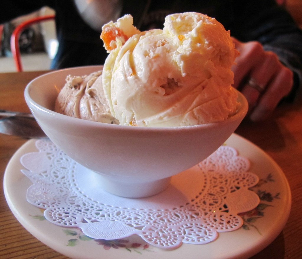 Lovelys Fifty Fifty ice cream \ vegetarianPDX