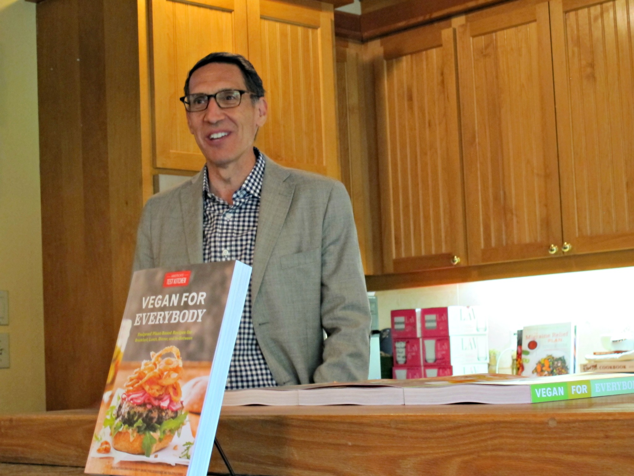 Jack Bishop discusses new America's Test Kitchen book, Vegan for Everybody