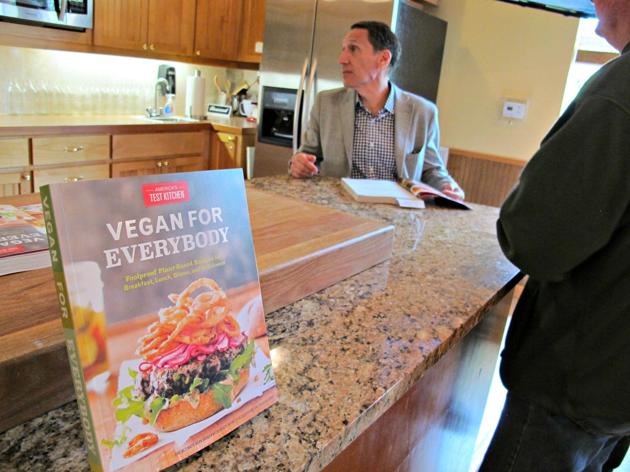 Vegan for Everyone book signing