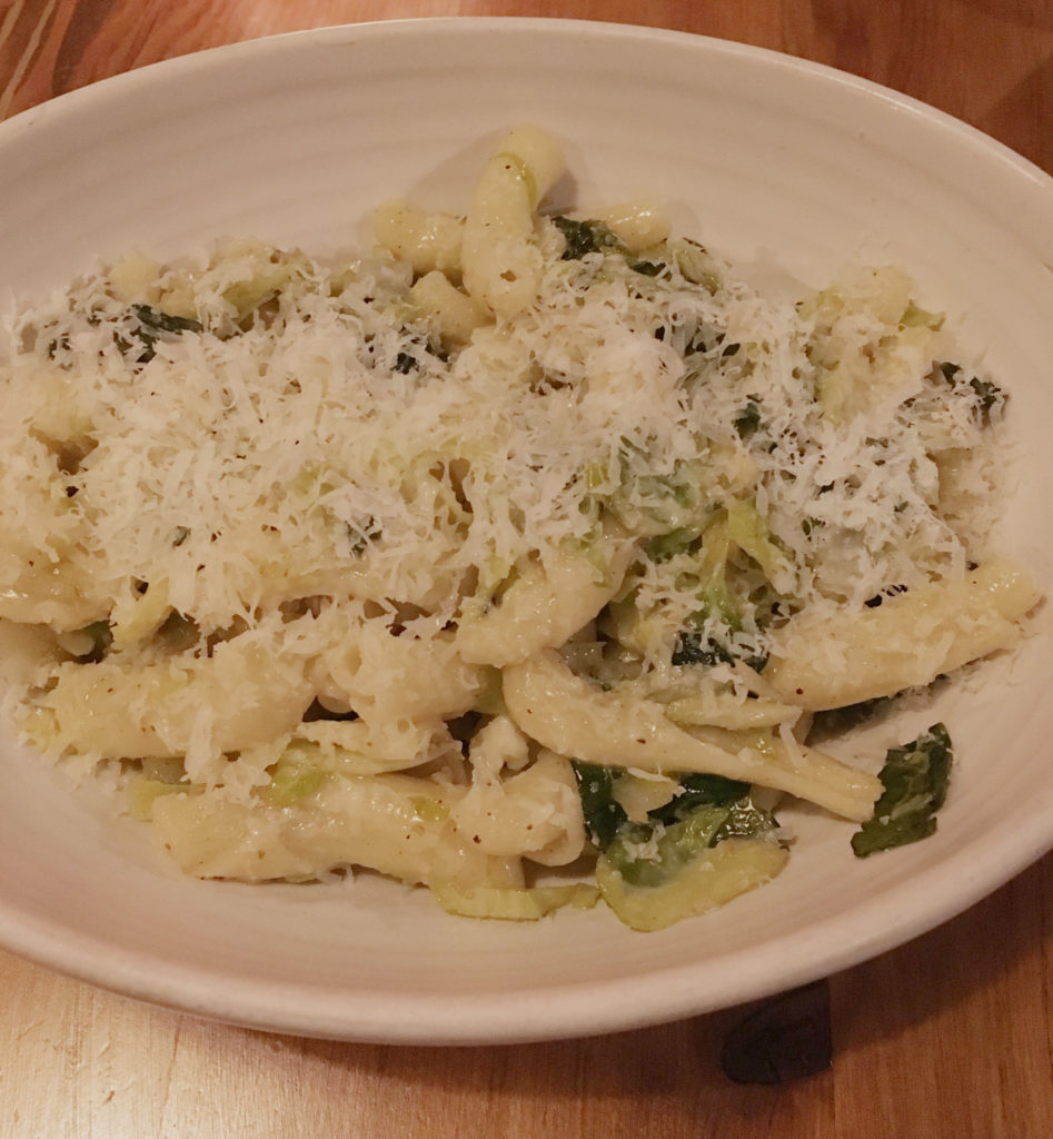 Vegetarian pasta special at Renata for Portland Dining Month